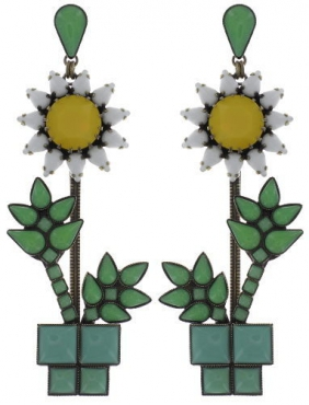 Серьги Sunflower