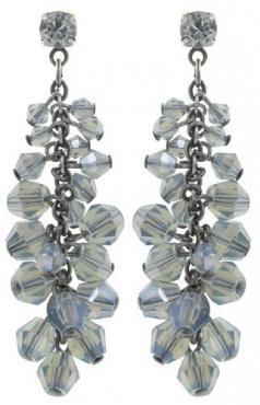 Серьги удлиненные на гвоздике Jumping Beads