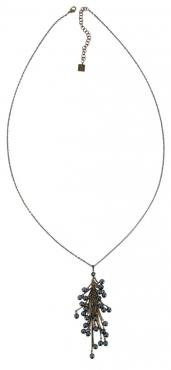 Удлиненная подвеска Pearls and Tubes