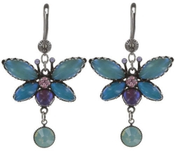 Серьги Fly Butterfly