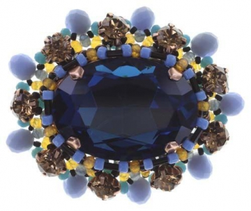 Брошь Beat of the Beads